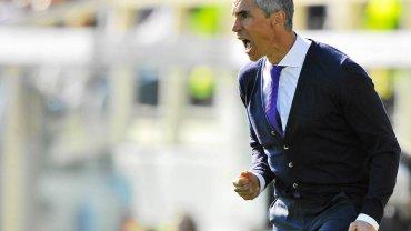 Trener Fiorentiny Paulo Sousa