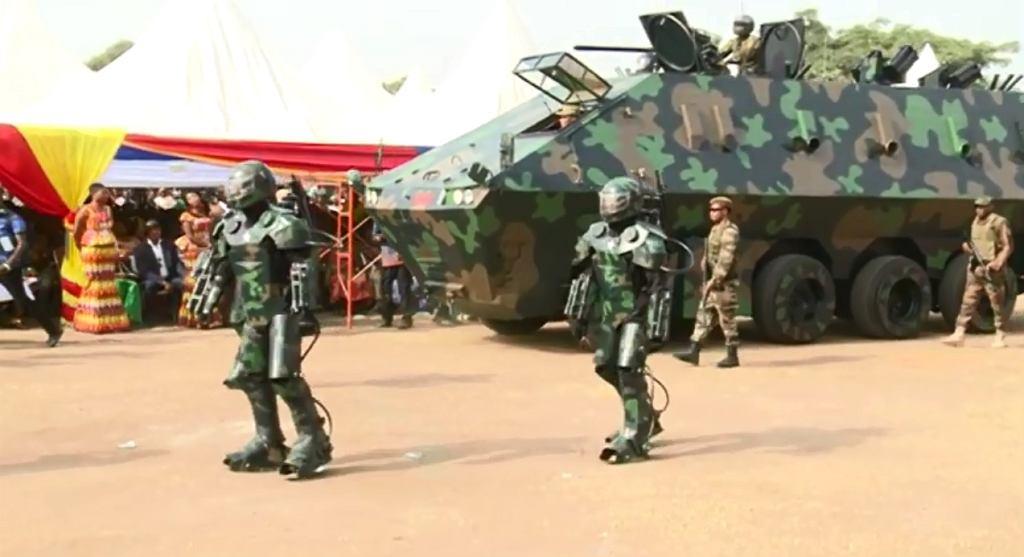 'Broń przyszłości' prosto z Ghany