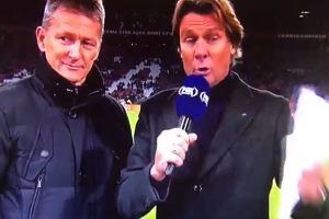 """Marco van Basten zszokował Holendrów! """"Sieg heil!"""" w przedmeczowym studiu [WIDEO]"""