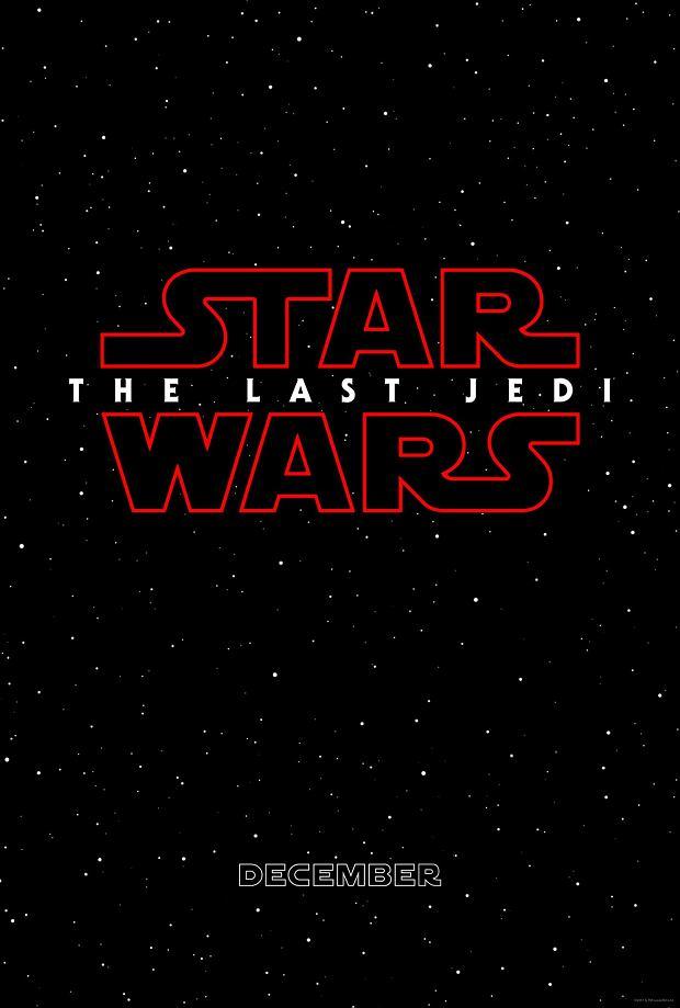 Plakat filmu 'Star Wars: The Last Jedi'