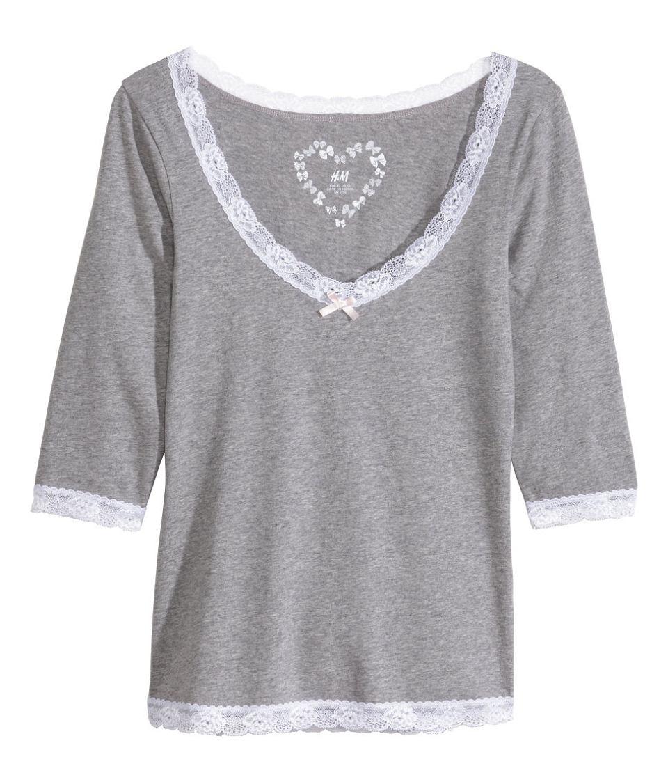 00e5bed662a42a Śpij słodko - koszule nocne i piżamy H&M