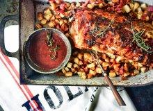 Wieprzowina z sosem piernikowym - ugotuj