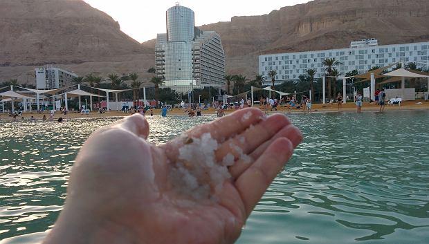 Sól, sól, wszędzie sól, czyli Morze Martwe.