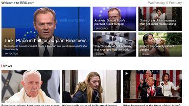 Światowe media o mocnych słowach Donalda Tuska w temacie brexitu