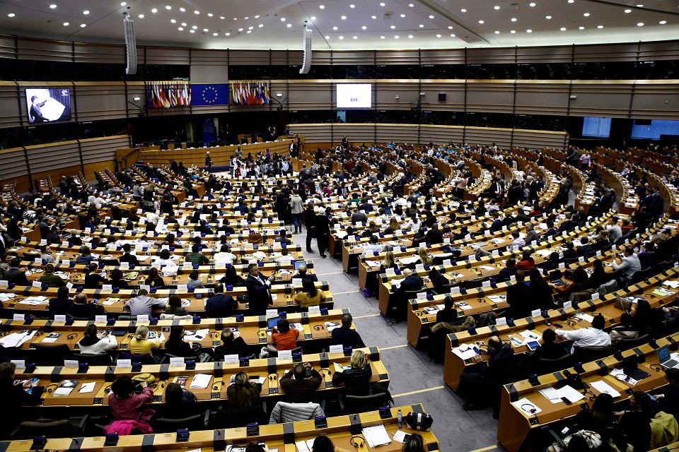 Parlament Europejski.