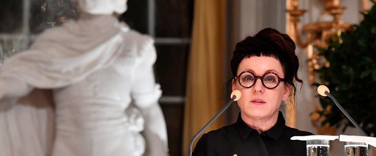 """Wykład noblowski Olgi Tokarczuk. Odczytała esej """"Czuły narrator"""""""