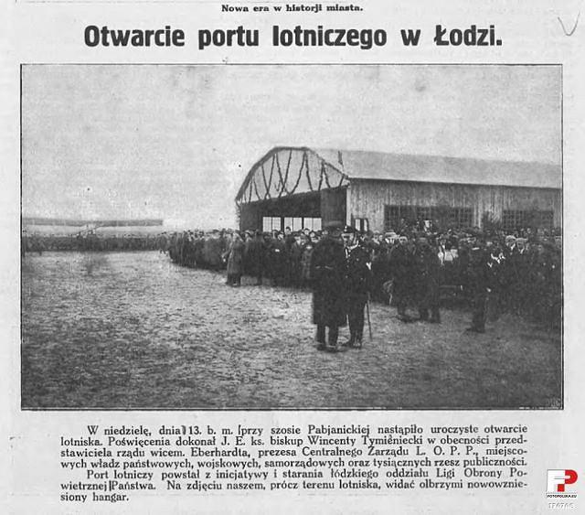 Otwarcie lotniska LOPP na Lublinku