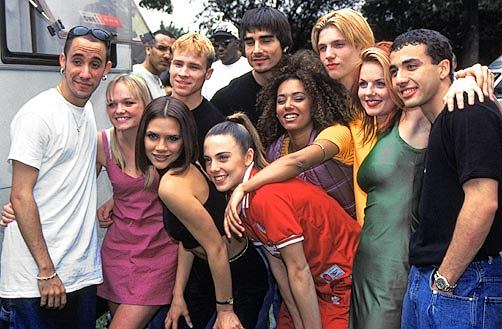 Spice Girls i Backstreet Boys razem