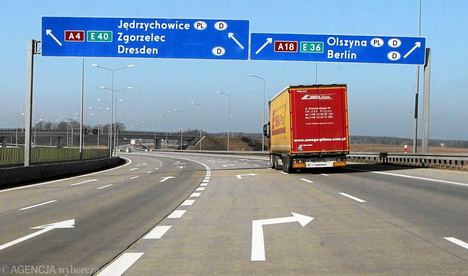 Minister Infrastruktury zdradził ile może kosztować rozbudowa autostrady A4.