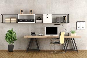 Gabinet do pracy w domu - jak zaaranżować biuro w mieszkaniu?