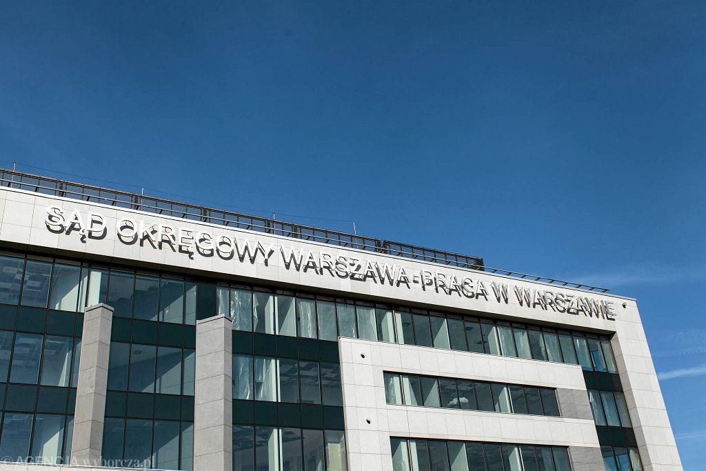 We wrześniu 2017 r. na gmachu pojawił się napis z nazwą sądu