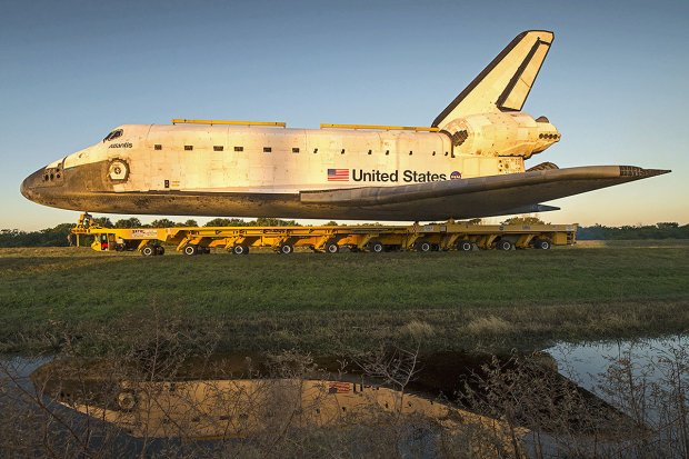 Transport wahadłowca Atlantis