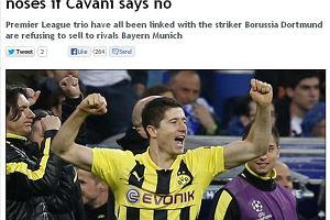 """Transfery. """"Daily Mirror"""": Lewandowski planem awaryjnym Chelsea"""