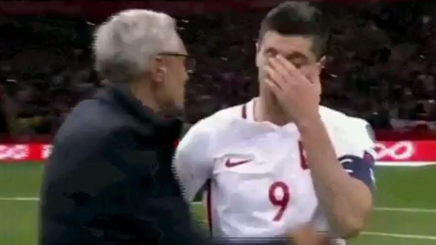 Niezadowolony Lewandowski