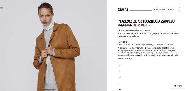 Zara ogłosiła wielką wyprzedaż. Sprzedaje hitowy płaszcz za mniej niż 60 zł. To must have w każdej szafie