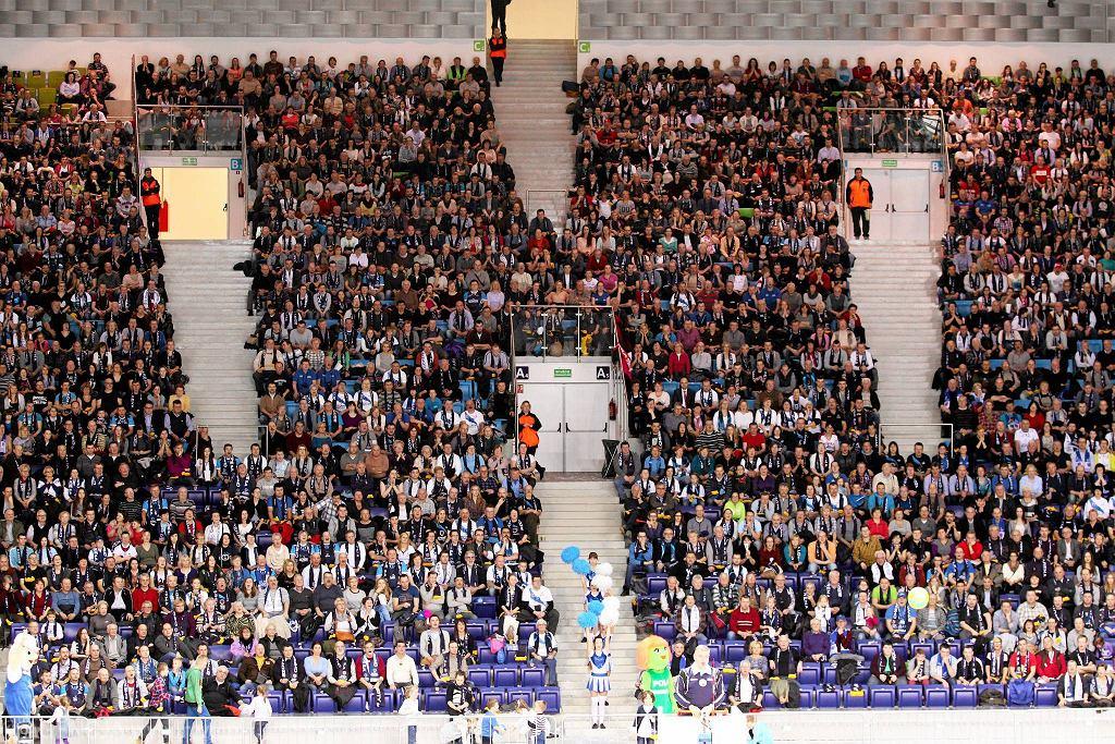 Trybuny Azoty Arena. W Szczecinie padł rekord frekwencji rozgrywek Ligi Mistrzyń - 5,5 tys. widzów na trybunach
