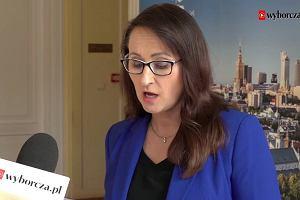 """Wiceprezydent Warszawy o proteście nauczycieli: """"Kurator oświaty próbuje zastraszyć dyrektorów szkół"""""""
