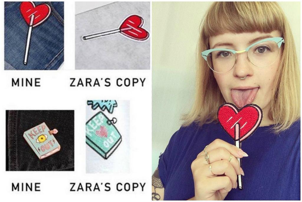 Tuesday Bassen sądzi się o plagiat z marką Zara
