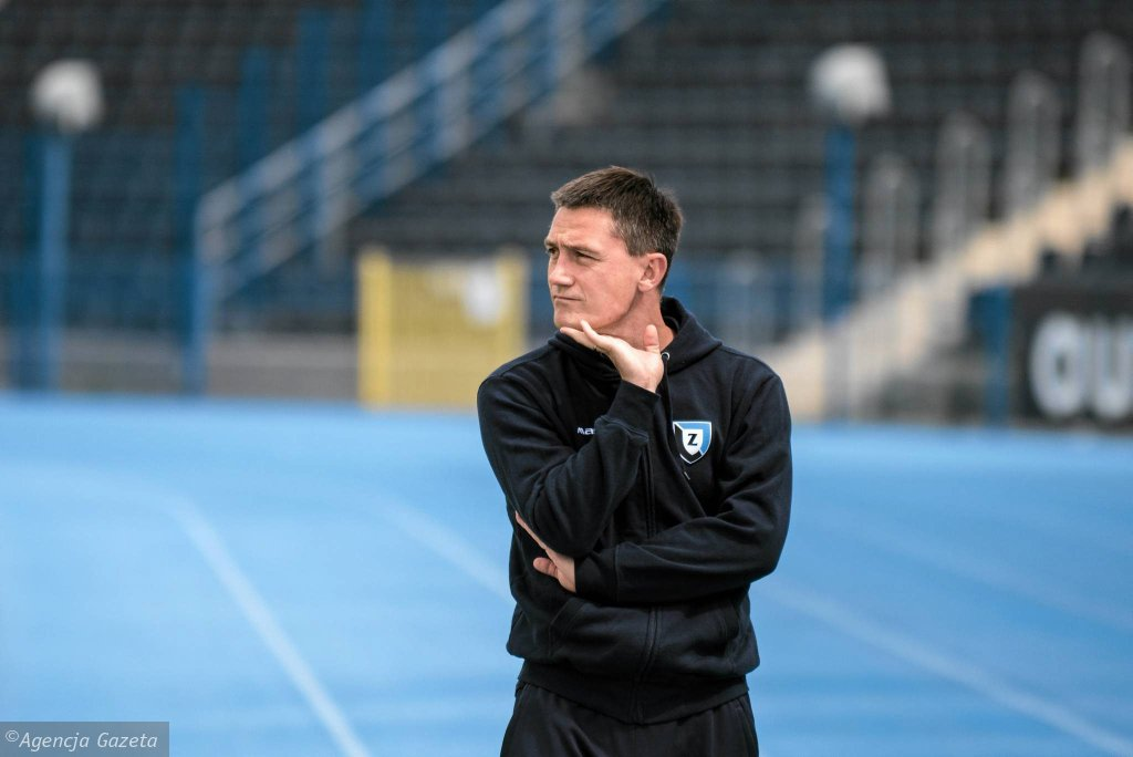 Trener Mariusz Rumak ma powody do zmartwienia