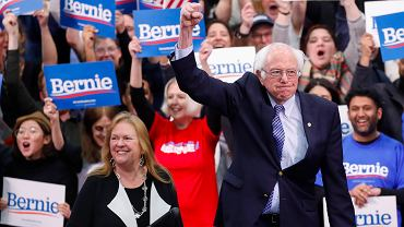 Senator Bernie Sanders zwycięzcą prawyborów w New Hampshire, 11.02.2020