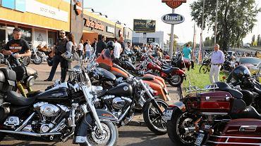 'Liberator' - warszawski dealer Harley - Davidson. American Day 2017 - spotkanie miłośników amerykańskiej motoryzacji. Warszawa, 26 sierpnia 2017