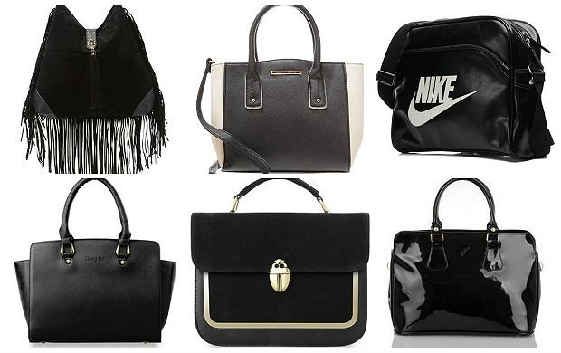 Czarne torebki świetne do noszenia na co dzień