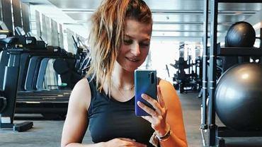 Anna Lewandowska z naprawdę dużym brzuszkiem! Nie rezygnuje z treningów. Fani: Dbaj o siebie i dzieciątko