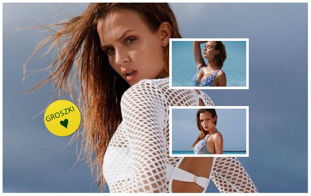 ff98eec87d52f4 Victoria's Secret- zobacz słodkie kostiumy na lato prezentowane przez  Josephine Skriver