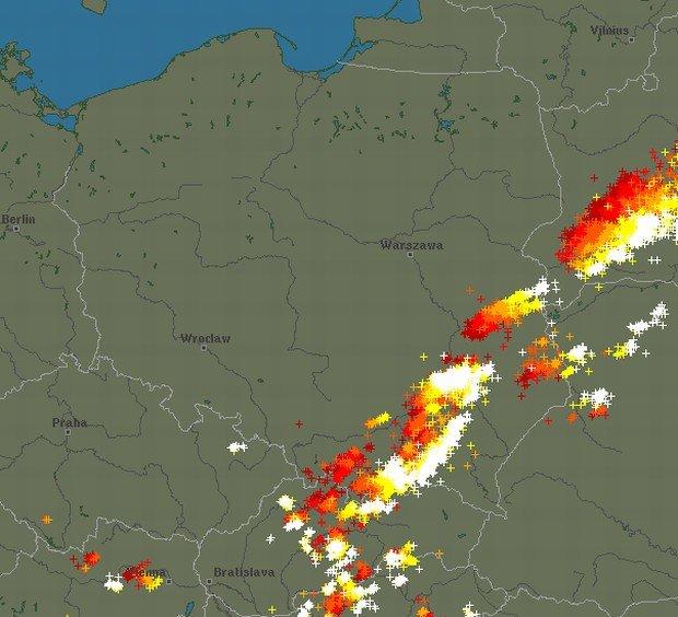 Gdzie jest burza? IMGW wydało ostrzeżenie przed ...