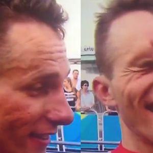 Rafał Majka po wyścigu kolarskim mężczyzn