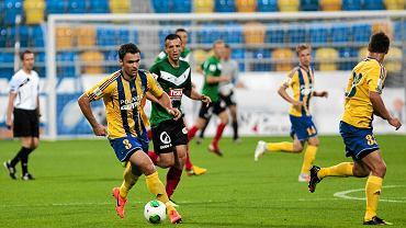 Mecz 2. kolejki Arka Gdynia - GKS Tychy transmitowany był przez telewizję Orange Sport