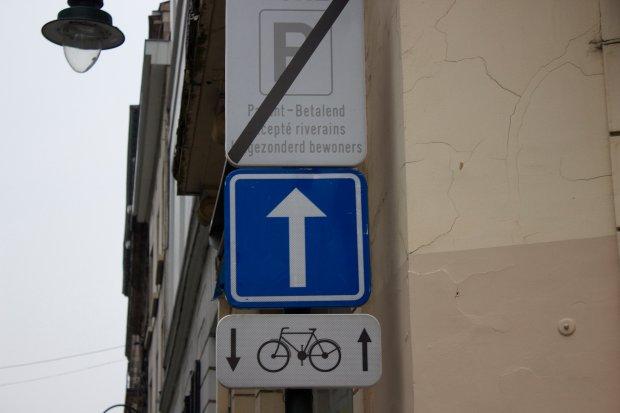 Dopuszczenie do ruchu rowerów w dwóch kierunkach na ulicy jednokierunkowej