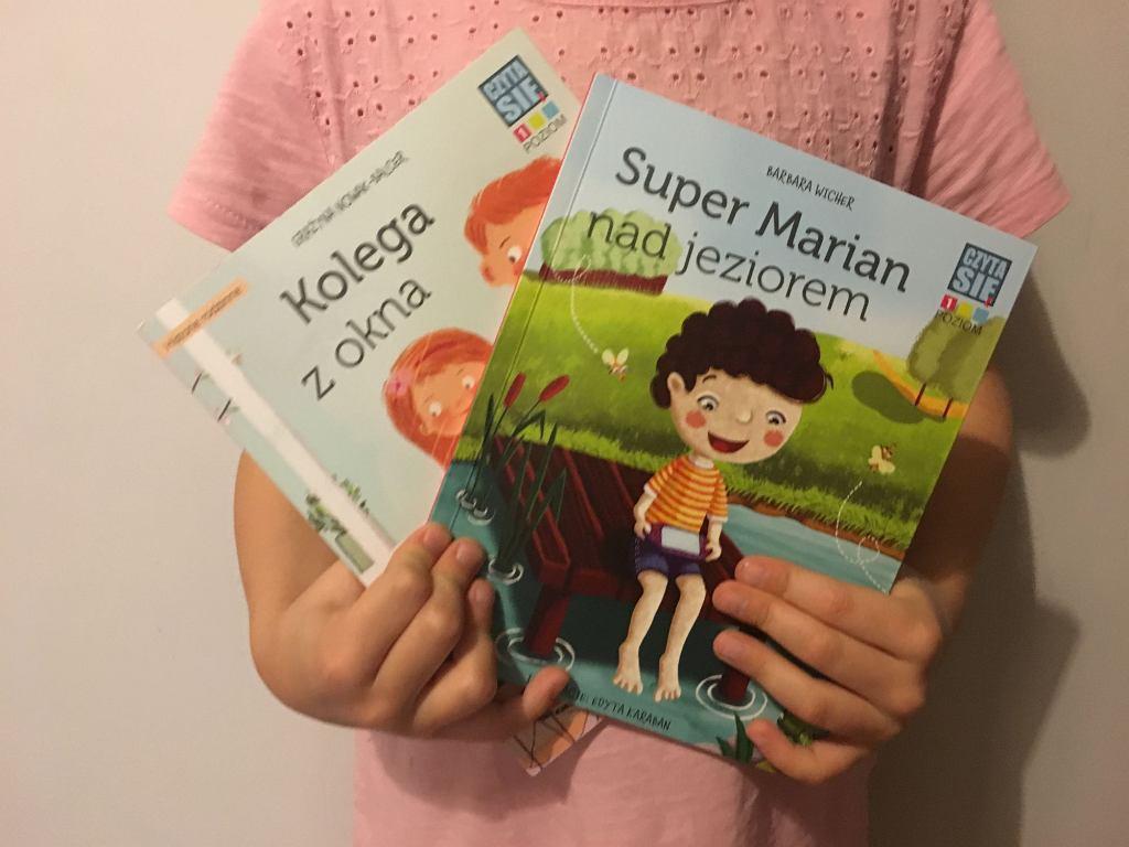 Czytasie to seria książeczek dla dzieci, które rozpoczynają swoją przygodę z czytaniem