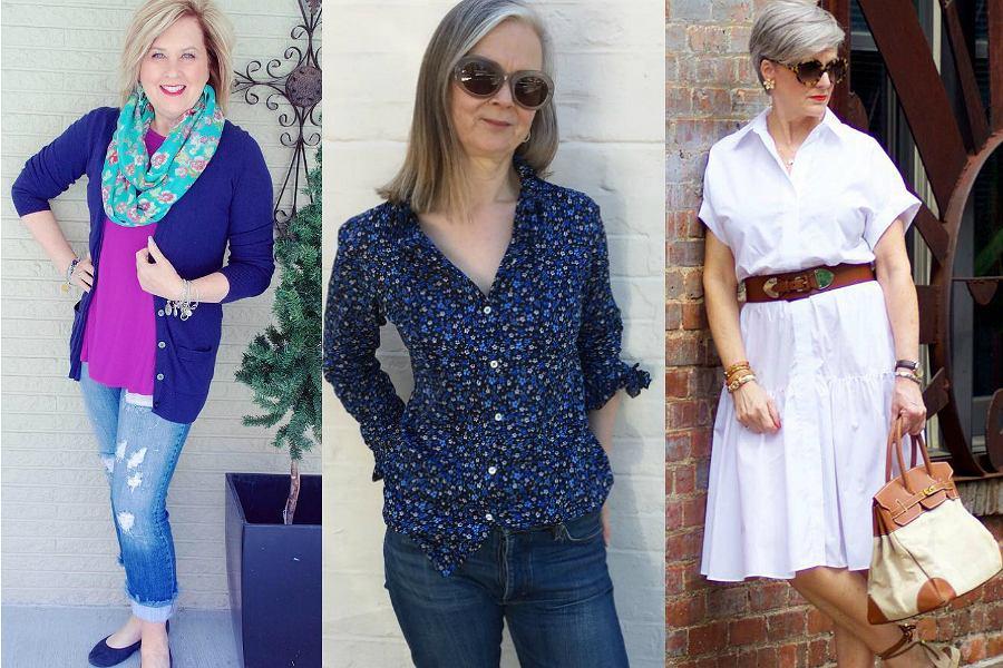 Modowy dla 50 plus blog Jestem, bo