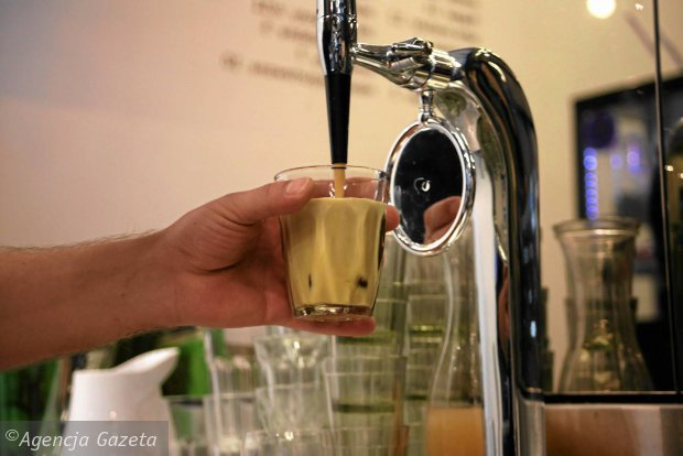 Kawiarnia EMESEN. Kawa mrożona azotem - nitro cold brew