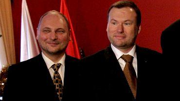 Bracia Jarosław i Grzegorz Biereccy, 2005 r.