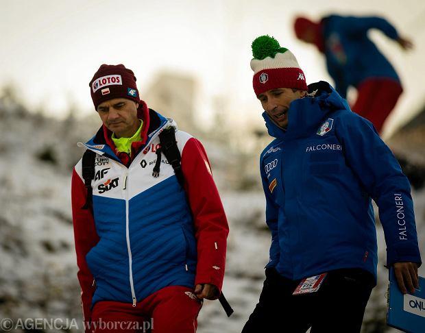 Stefan Horngacher i Łukasz Kruczek