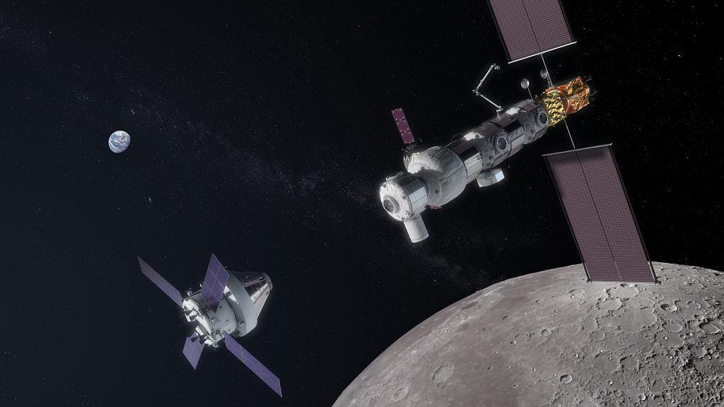 Planowana stacja Kosmiczna Lunar Gateway