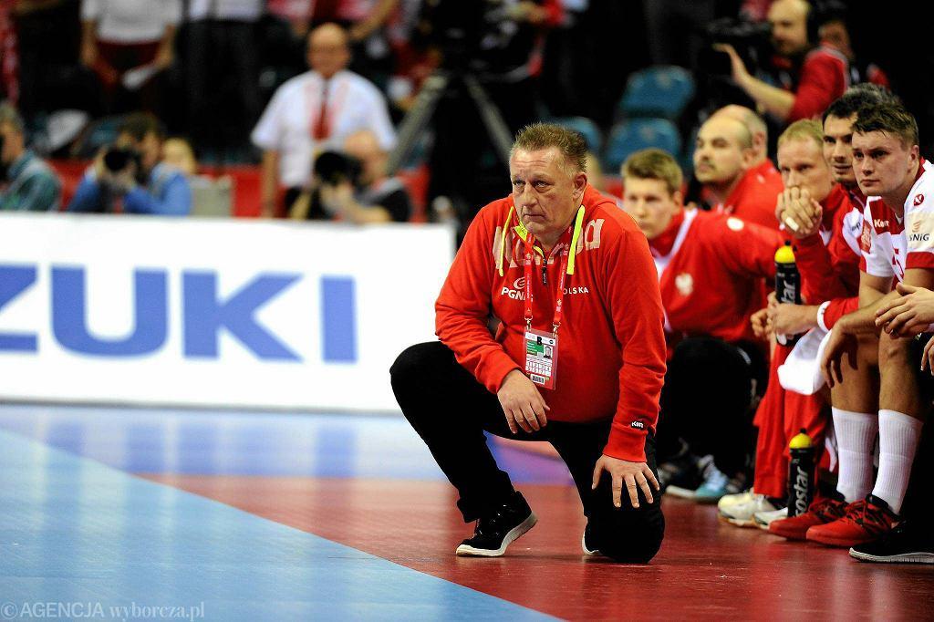 Mistrzostwa Europy w piłce ręcznej. Mecz Polska - Chorwacja. Michael Biegler