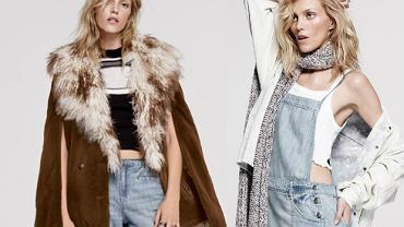 Anja Rubik w lookbooku Free People na jesień 2015