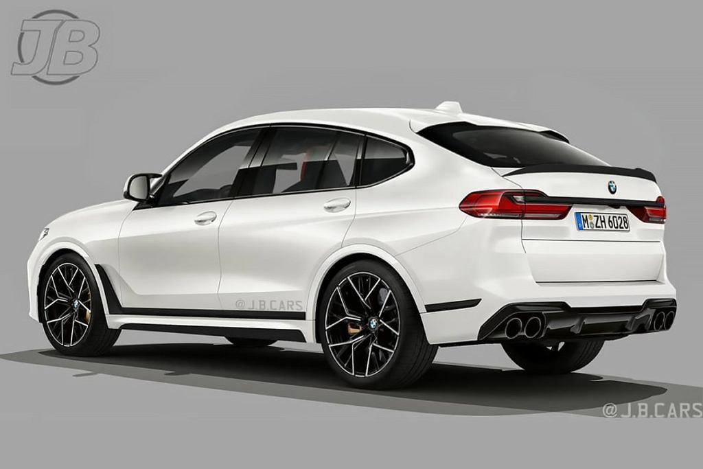 Tak może wyglądać BMW X8 M. Tutaj w wyobrażeniu J.B. Cars.