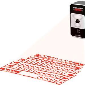 Celluon Magic Cube: laserowa klawiatura do tabletów i smartfonów