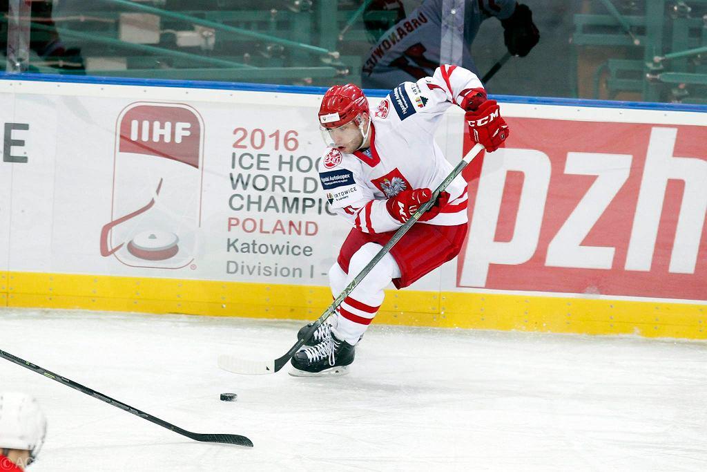 Maciej Urbanowicz zdobył jedną z bramek dla Polaków w meczu z Ukrainą