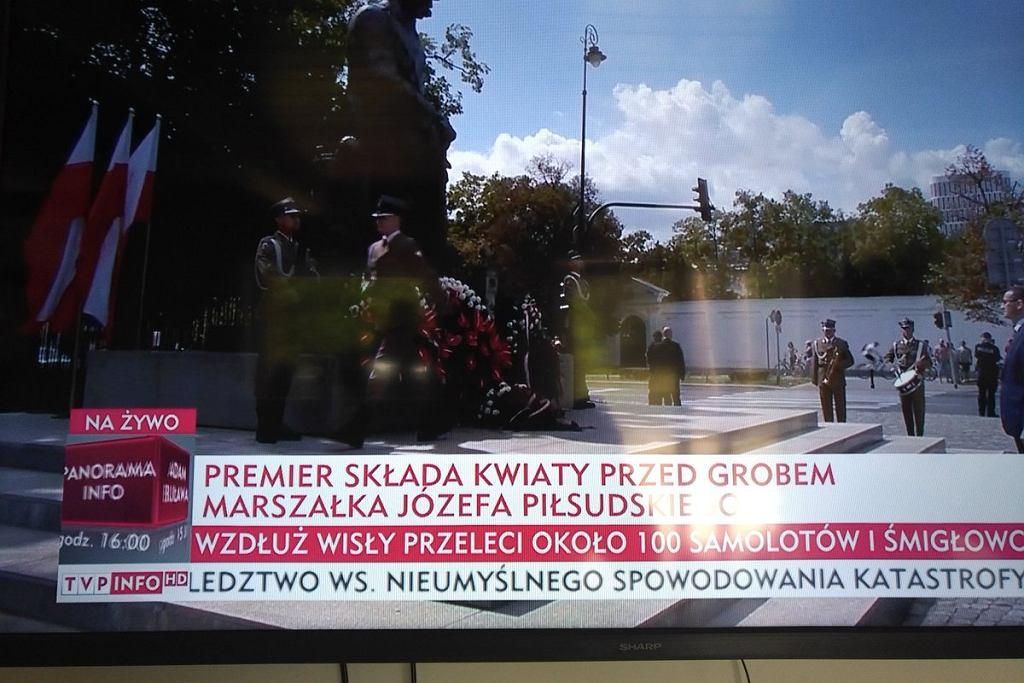 15 sierpnia. Uroczystości z okazji święta wojska polskiego. Relacja TVP Info