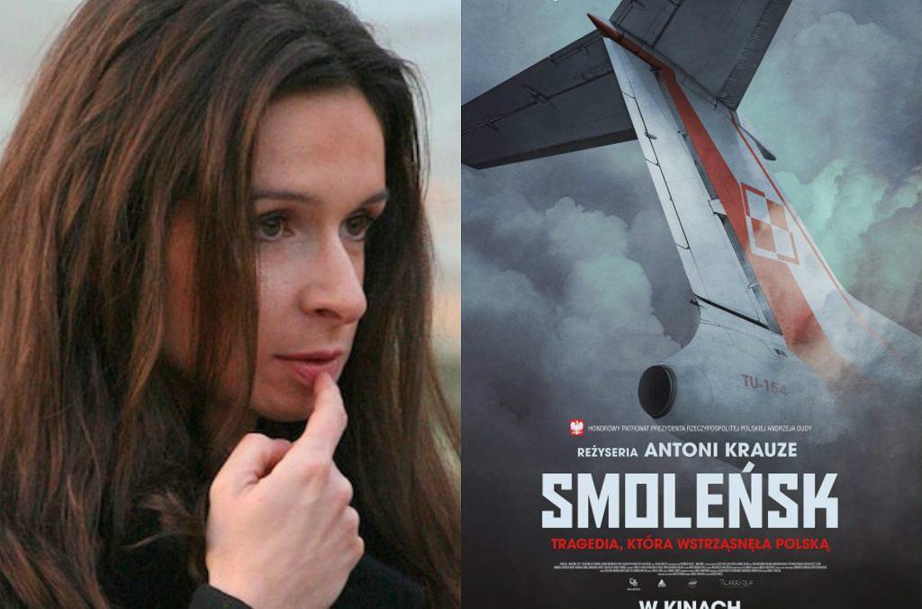 Marta Kaczyńska/Plakat filmu 'Smoleńsk'