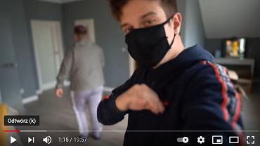 Autor nagrania - 'Kamuś', znany też jako 'Kamerzysta', czyli Łukasz Wawrzyniak