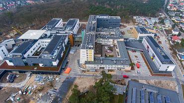 Budowa nowego szpitala na Bielanach. Zakończenie całej inwestycji za 560 mln  zł zostało zaplanowane na późną jesień 2020