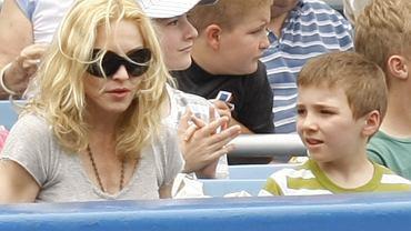 Madonna z synem