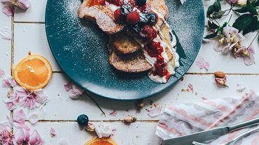 tosty francuskie w dietetycznej wersji