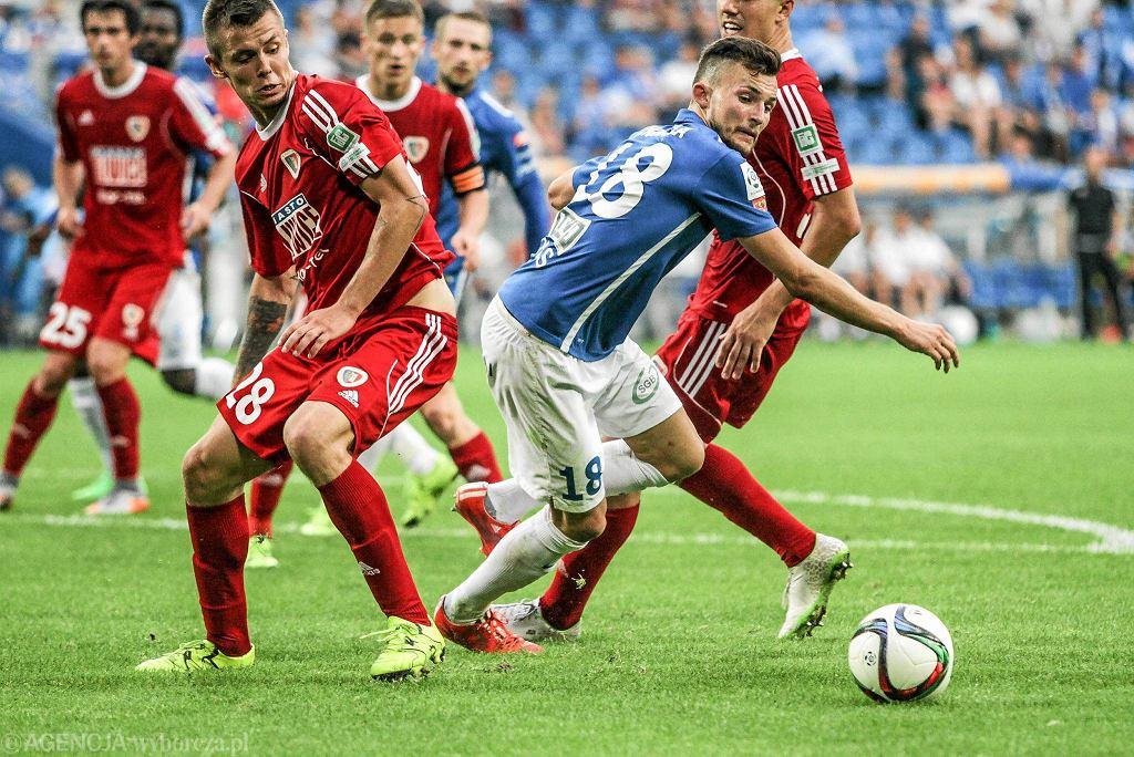 Lech Poznań - Piast Gliwice 0:1.